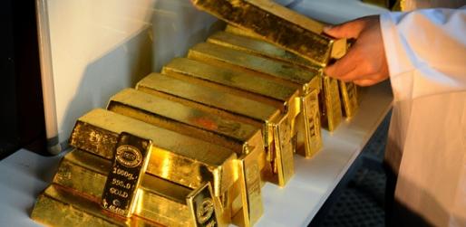 Altın rezervi 840 ton