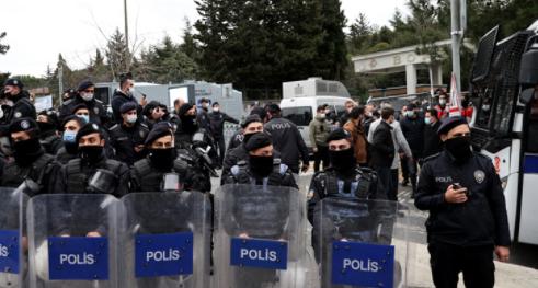 Boğaziçi Üniversitesindeki gösterilerde gözaltına alınan 30 kişinin tutuklanması talep edildi