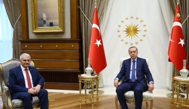 Erdoğan ile Yıldırım'dan beklenmedik görüşme