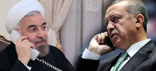 Erdoğan, Ruhani'yle telefonda görüştü