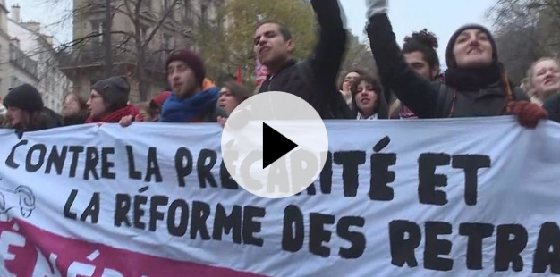 Fransa'da emeklilik reformuna tepki gösterildi