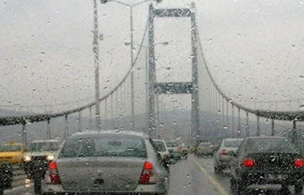 İstanbul'da sağanak yağış uyarısı