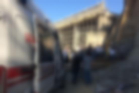 İstinat duvarı çöktü 1 işçi öldü
