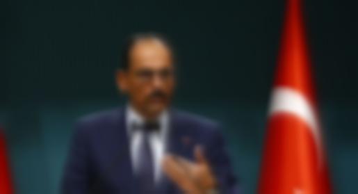 Kalın tarafından Barış Pınarı Harekatı operasyonu açıklaması
