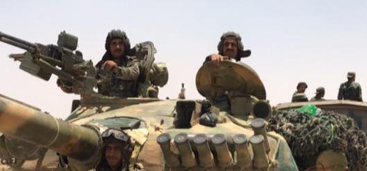 Suriye ordusu, Türk ordusuna karşı yola çıktı