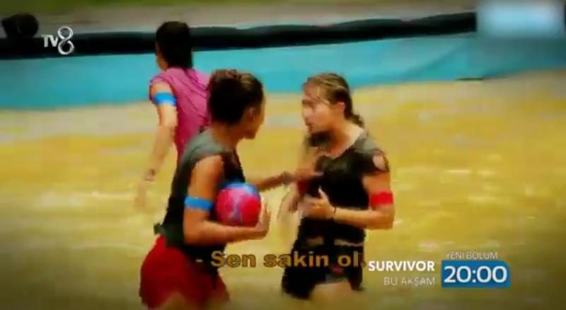 Survivor Şahika ve Tuğçe kavgası