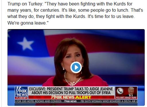 Trump'tan YPG'ye uyarı