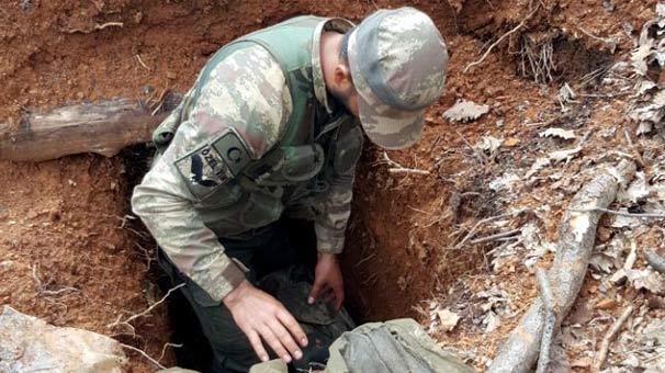Tunceli'de PKK örgütü sığınağı deşifre edildi