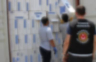 500 bin paket kaçak sigara
