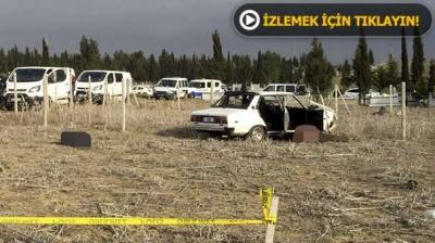 Adana'da bir mezarlıkta 3 kişi öldürüldü