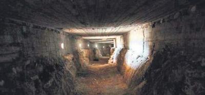 Afrin'deki tüneller