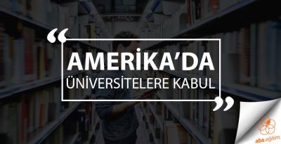 Amerika'da Üniversitelere Kabul