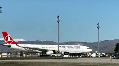 Ankara'da Tahran'dan gelen uçakta koronavirüs alarmı