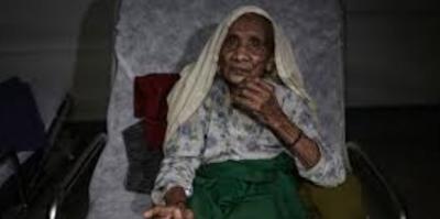 Arakanlı 120 yaşındaki kadın