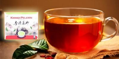 Bu Kırmızı Pelerin Çayı Uçuruyor
