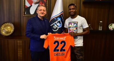 Chedjou 3 yıllık anlaşma ile Başakşehir'e transfer oldu