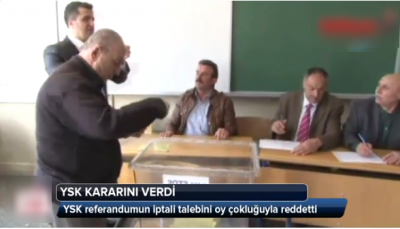 CHP referandum iptali sonuçlandı