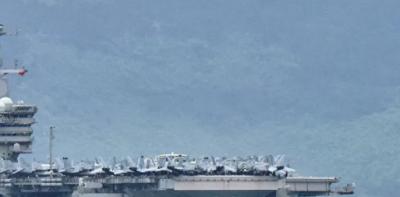 Çin, ABD uçak gemilerinin Güney Çin Denizi'nde tatbikat yapmasına tepki
