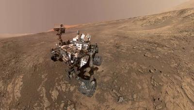 Curiosity keşif aracı tarafından Mars yüzeyinden yeni fotoğraflar