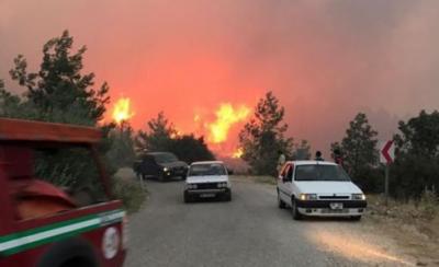 Denizli'deki yangının sebebi insan
