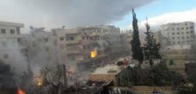 Doğu Guta'da saldırıda 19 ölü