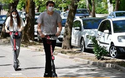 Elektrikli scooter'larla ilgili yönerge kabul edilmedi