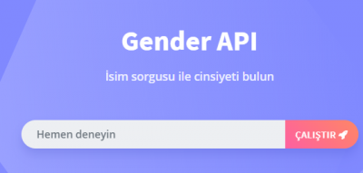 En iyi instagram Api Gender
