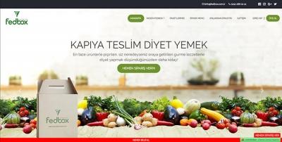 Fedbox Adrese Teslim Diyet Yemek Servisi Hizmeti Sunmaya Devam Ediyor