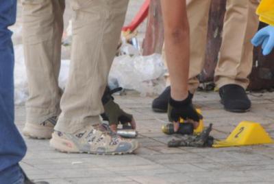 Gaziantep'te otogarda askeri mühimmat bulundu