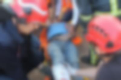 Göçükte 2 işçi yaralandı