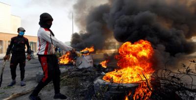 Güney Irak'ta kan gövdeyi götürüyor