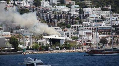 Halikarnas Disko'da büyük yangın