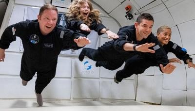 İlk tamamen sivil SpaceX uçuşu uzaya gidiyor