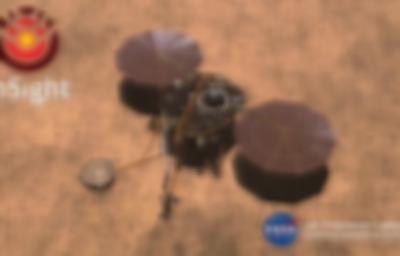 InSight Mars'ta görevde