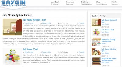 İzmir'de Hızlı Okuma Kursları