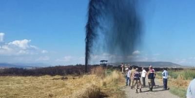 Kahramanmaraş'ta petrol boru hattı