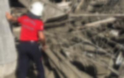 Kalıplar Çökünce 3 işçi yaralandı