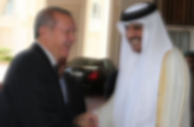 Katar Emiri'nden Erdoğan'a hediye