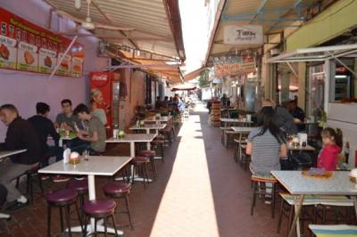 Meşhur tostçu sokağı