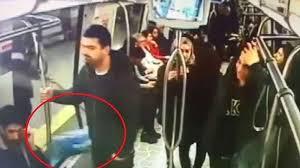 Metroda 'bomba' diye bağıran öğrenciler