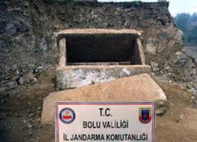 Mudurnu'da 2 bin yıllık lahit