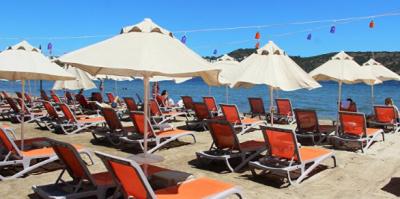 Muhtarlık halk plajını ihaleyle kiraladı
