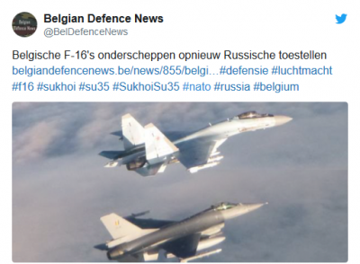 NATO pilotları övündü