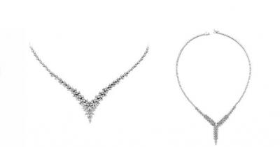 Pırlanta kolyelerde en güzel modeller Amare Pırlanta'da