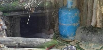 PKK'ye ait yaşam malzemeleri yakalandı