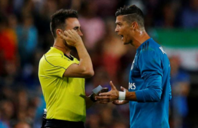Ronaldo'ya maçtan sonra ceza geldi