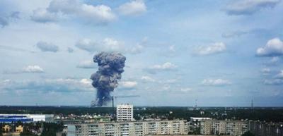 Rusya'da TNT fabrikasında patlama