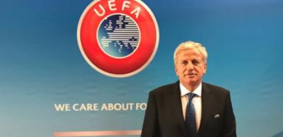 Servet Yardımcı, UEFA yönetim kurulu üyesi olarak görev aldı