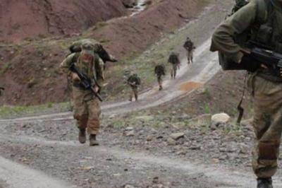 Şırnak'ta çatışma 2 asker yaralı