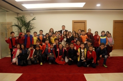 Talas Belediye Başkanı Mustafa Palancıoğlu, Öğrencilere Belediyeciliği Anlattı!